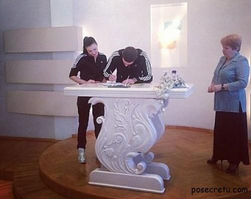 Анастасия Приходько вышла замуж
