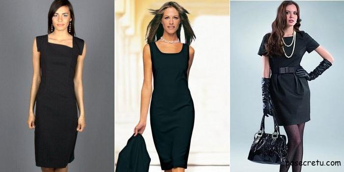 Бижутерия для черного платья