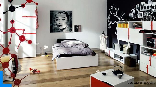 Выбор мебели для комнаты девушки