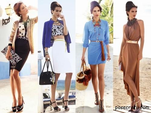 Женская одежда теплого сезона 2014