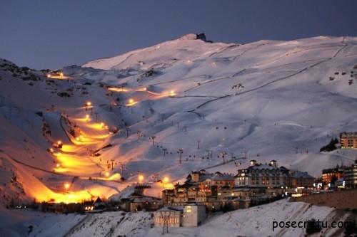 Испанский горнолыжный курорт Сьерра Невада