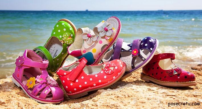 Как выбрать летнюю обувь для детей