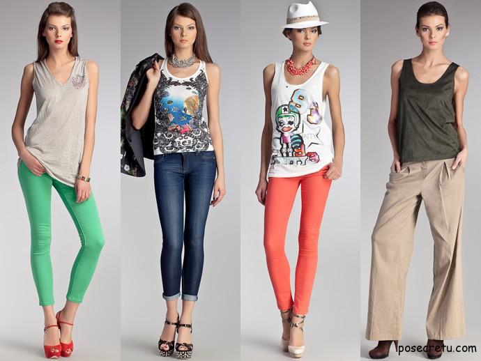 Как выбрать футболки для девочек подростков
