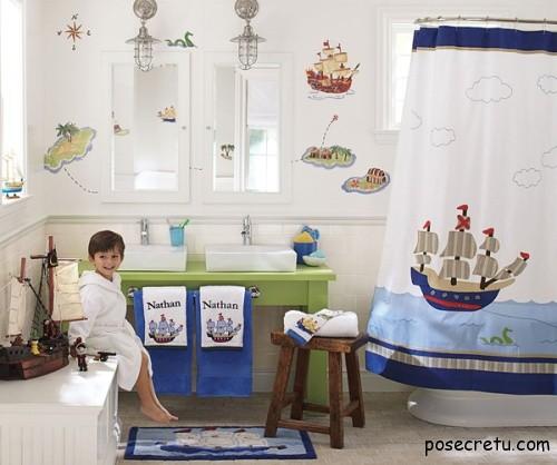 Как оборудовать ванную комнату, если в доме ребенок