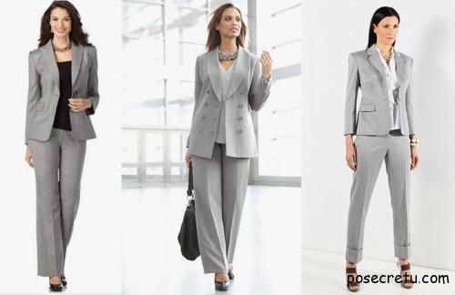 Как правильно выбрать женский деловой костюм