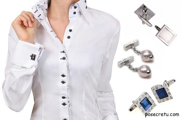 Как правильно подобрать и носить женские запонки