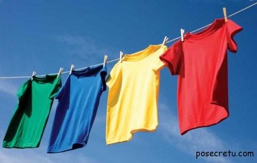 Как правильно стирать футболки
