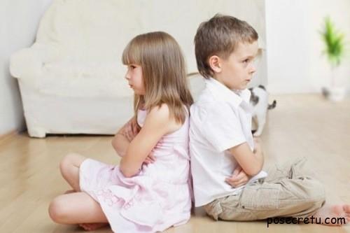 Как реагировать на то, что дерутся дети
