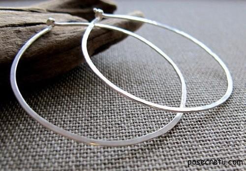 Кольца и серьги из серебра