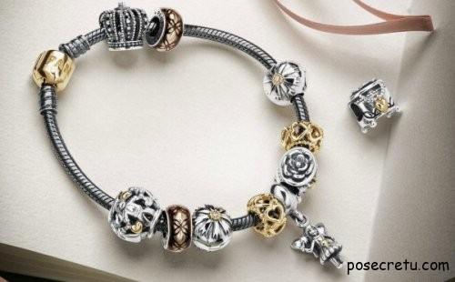 Модные браслеты Пандора