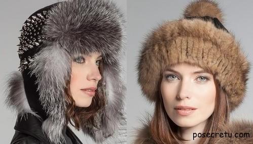 Модные зимние женские шапки 2013-2014