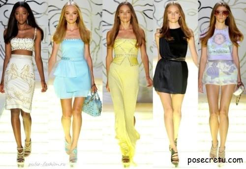 Модные тренды весны и лета