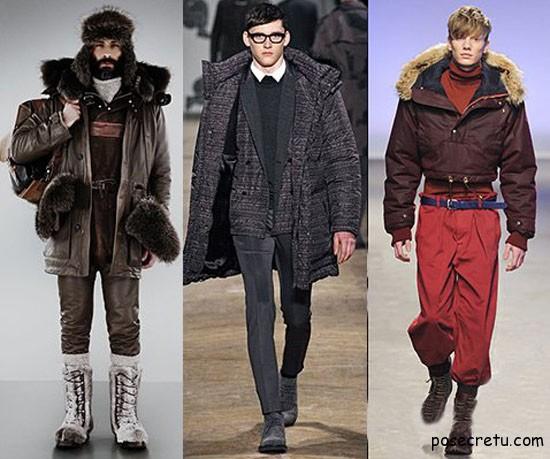 Мужская мода - верхняя одежда