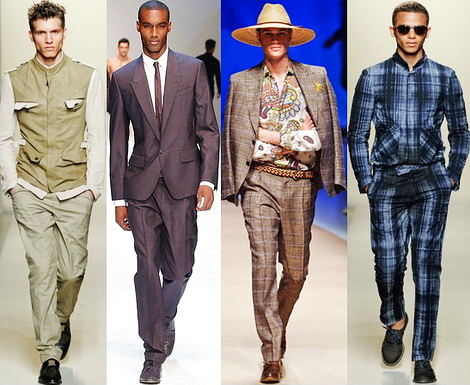 Мужская модная одежда