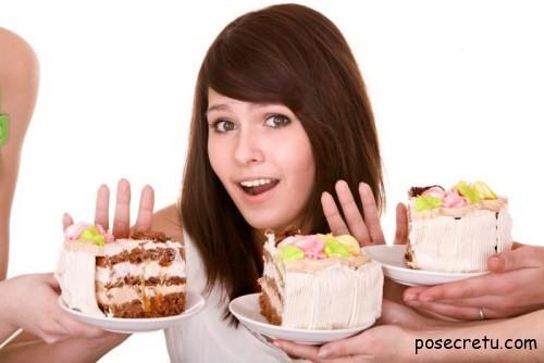 Мучное и сладкое во время диеты