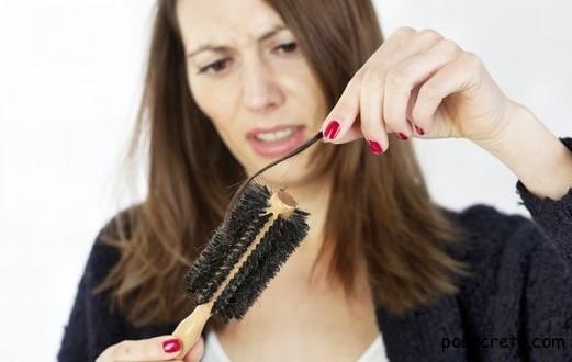 Натуральные средства против проблемы выпадения волос