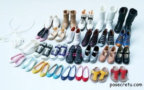Необходимый набор обуви в гардеробе женщины