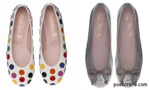 Обувь для лета - балетки