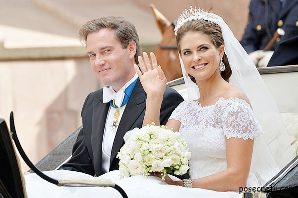 Принцесса Швеции родила дочку