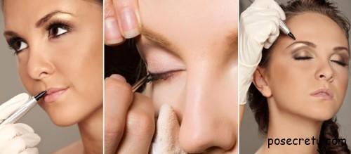 Проведение перманентного макияжа