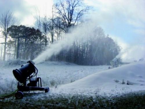 Производство искусственного снега