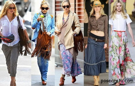 Смешение различных стилей одежды