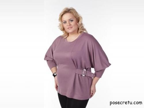 блузка больших размеров