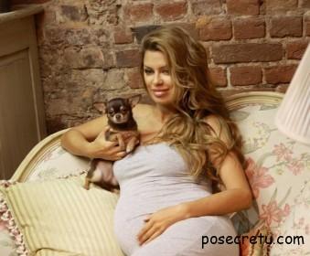 Виктория Боня скоро родит первенца