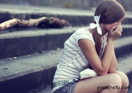 девушка винит себя