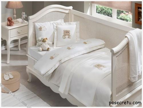 детское белье в кроватку