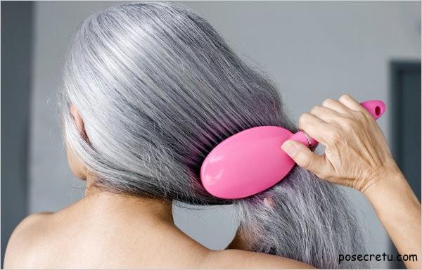как избавиться от седых волос
