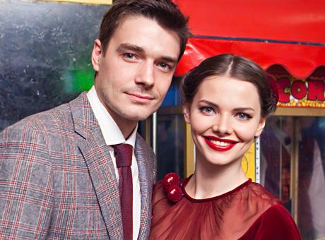 Лиза Боярская с мужем Максимом Матвеевым