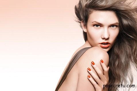 макияж в тропическом стиле
