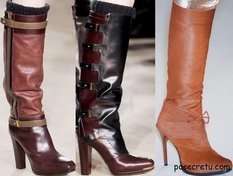 модная обувь зима 2013-2014