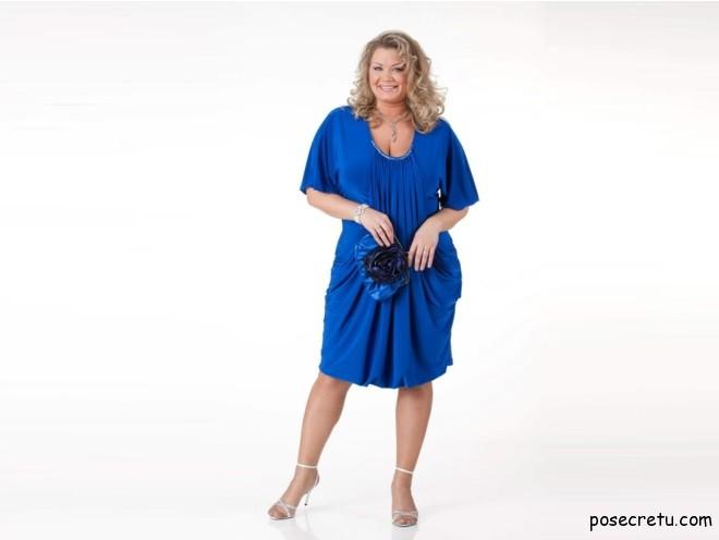 платье больших размером