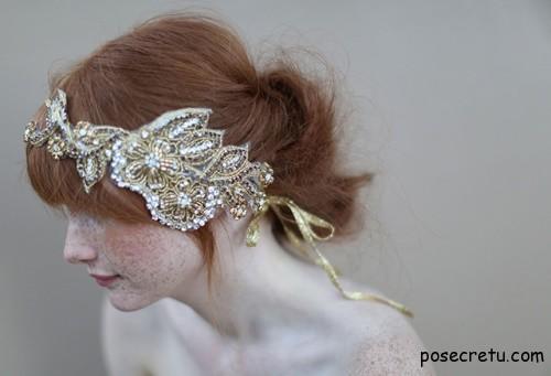 украшения для волос невесты сваровски
