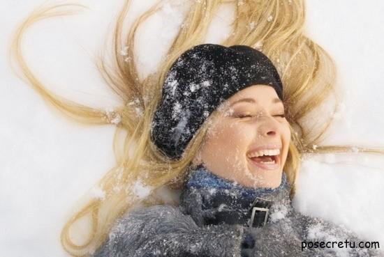ухаживаем за волосами зимой