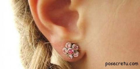 уход за проколотыми ушами