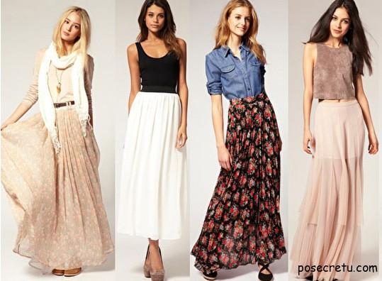 модные юбки для молодых мам