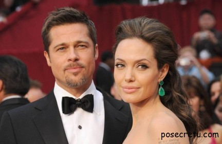 Анджелина Джоли и Брэд Питт объявили о своей помолвке