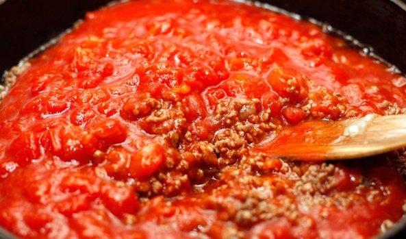 Лазанья с соусом болоньезе рецепт с фото