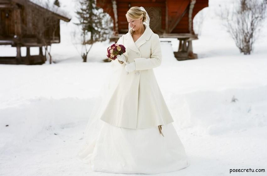 Свадебных платьев зима