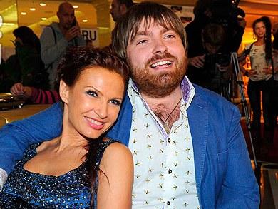 Эвелина Бледанс и муж Александр Семин