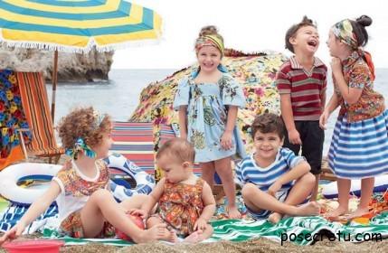Детская мода весна-лето 2013