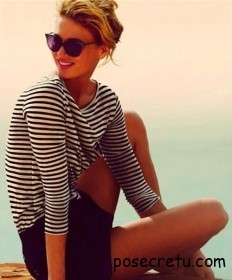 Морская тема в одежде – тренд лета