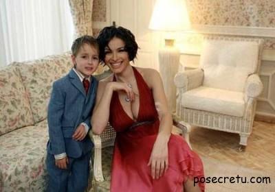 Надежда Грановская с сыном