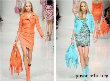 Кожаные вещи - модный тренд лета
