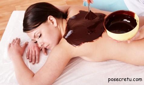 Шоколадный скраб для тела