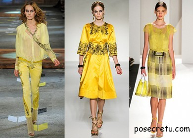 Just Cavalli, Moschino, Carolina Herrera